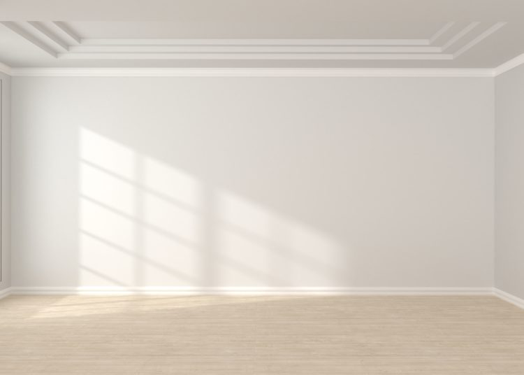 Empty room in the house