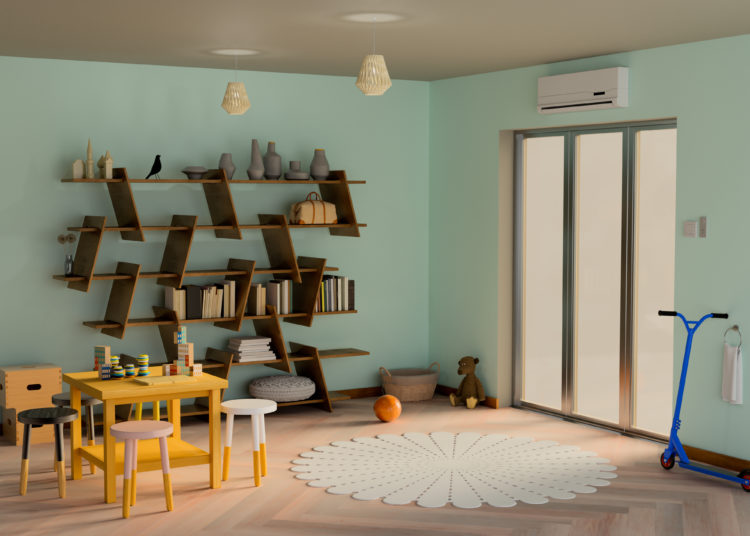 Modern child room