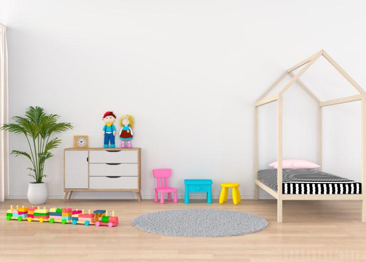Modern nursery room for a child