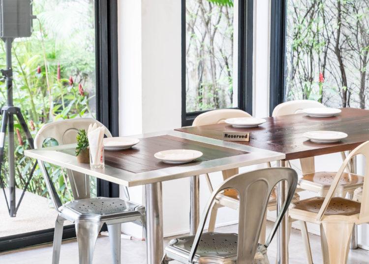 Modern dining room space, modern design
