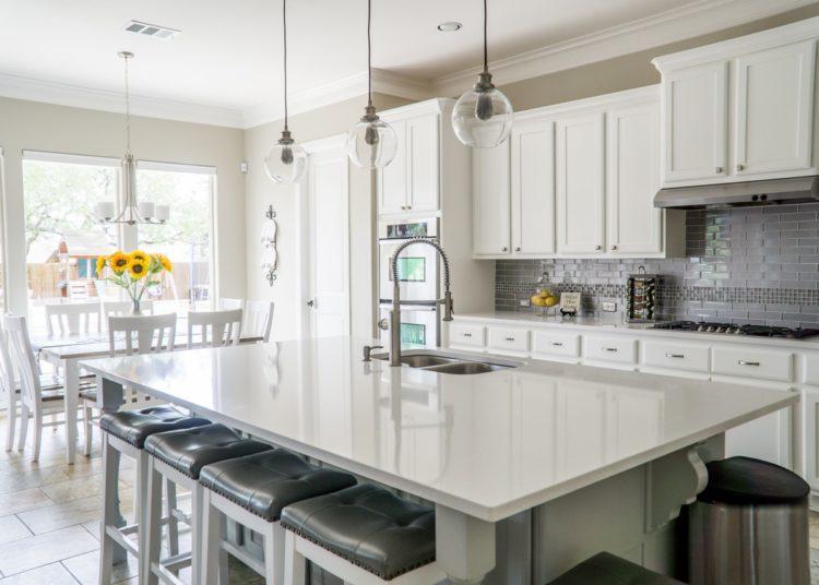 Minimalistic modern kitchen furniture