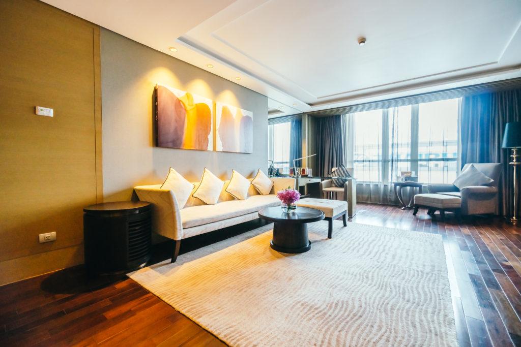 Beautiful luxury living room interior decoration